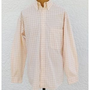 Structure Yellow Long Sleeve Button Front Shirt